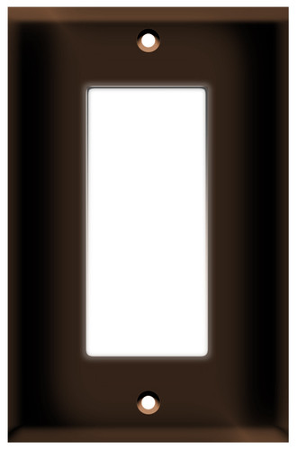 Decorative Screwless Wallplate 2-Gang White - AH LIGHTING INC