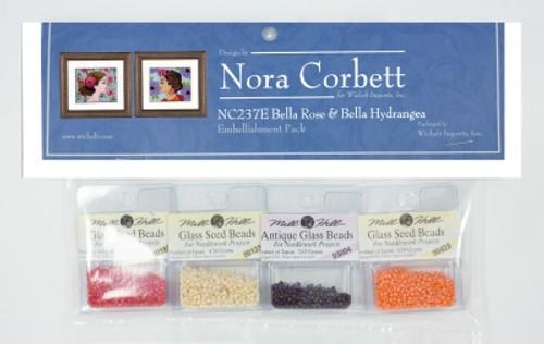Bella Rose and Bella Hydrangea / Nora Corbett
