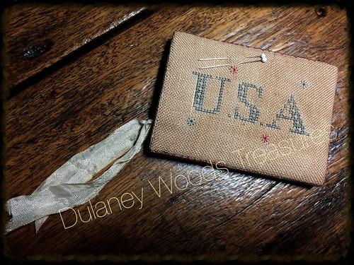 1847-1848 Flag Scissor Keep / Dulaney Woods Treasure
