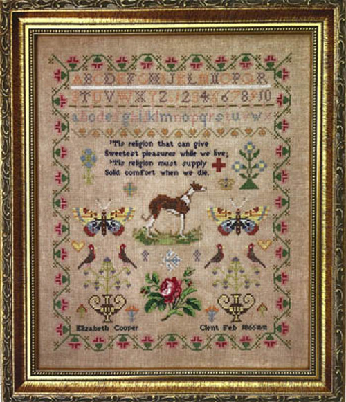 Elizabeth Cooper 1866 / Fox And Rabbit Designs