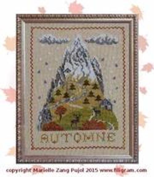 Autumn Mountain / Filigram