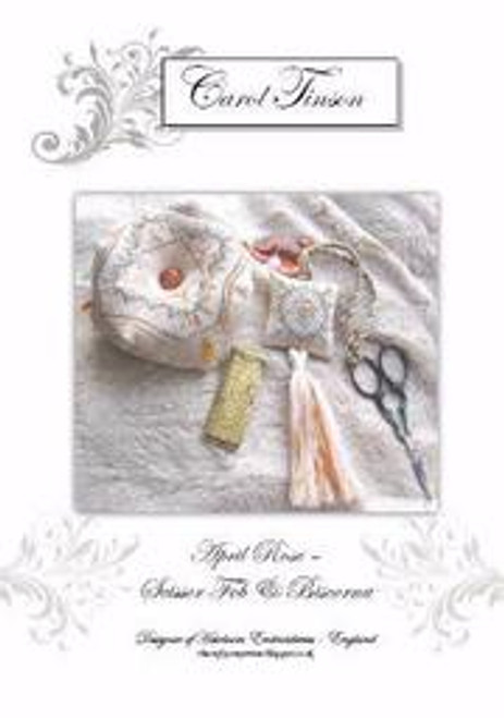 April Rose Biscornu / Heirloom Embroideries