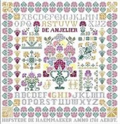 Carnation Sampler / Jan Houtman Designs