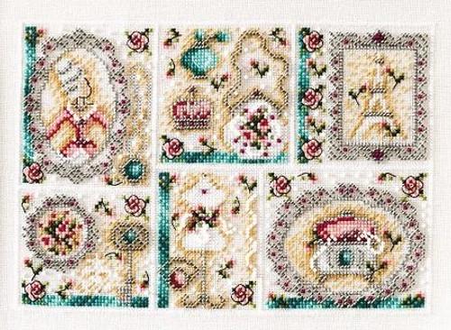 Antiques Sampler / Shannon Christine Designs
