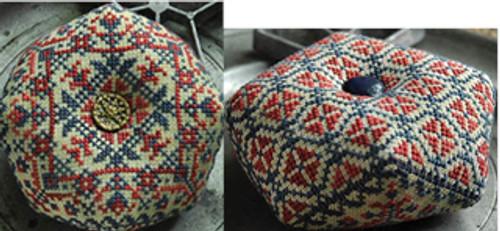 American Harmony (2/3) Double Sided Biscornu / Summer House Stitche Workes