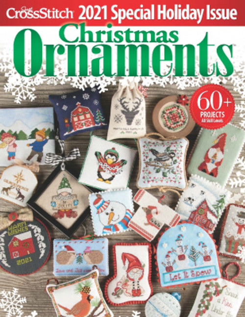 2021 Just Cross Stitch Christmas Ornaments Special Collector's Issue / Just CrossStitch
