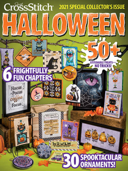 2021 Just Cross Stitch Halloween Special Collector's Issue / Just CrossStitch