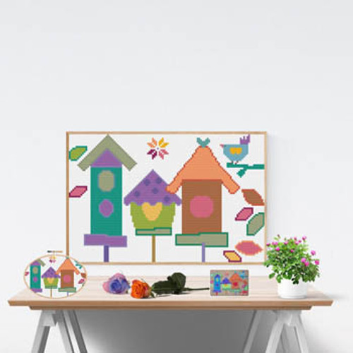 Bird House / Susanamm Cross Stitch