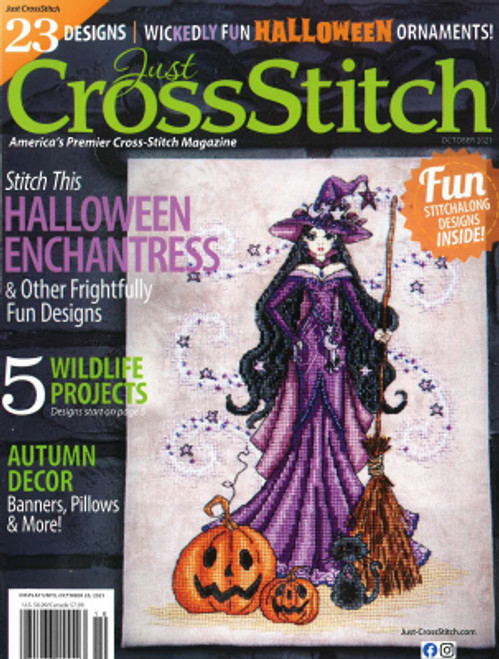 2021 Just Cross Stitch September/October Issue / Just CrossStitch