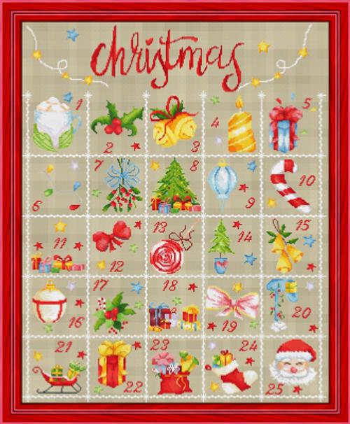 Advent Calendar / Les Petites Croix De Lucie