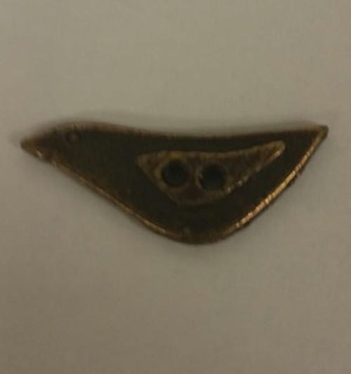Olde Brass Button - Bird / Homespun Elegance Ltd