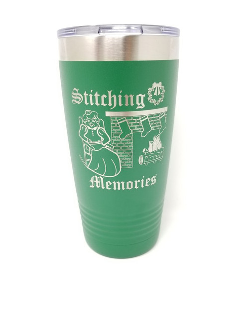 Stitching Memories Tumbler / Joseph's Workshop
