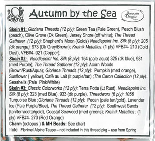 Autumn By The Sea - Seasonal Set #3 / Jeannette Douglas Designs