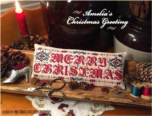 Amelia's Christmas Greeting / Calico Confectionery