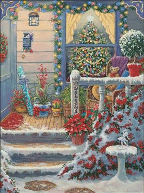 A Christmas Welcome / Charting Creations
