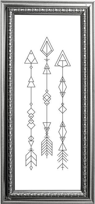 Arrow Series #1 / Chelsea Buns Cross Stitch