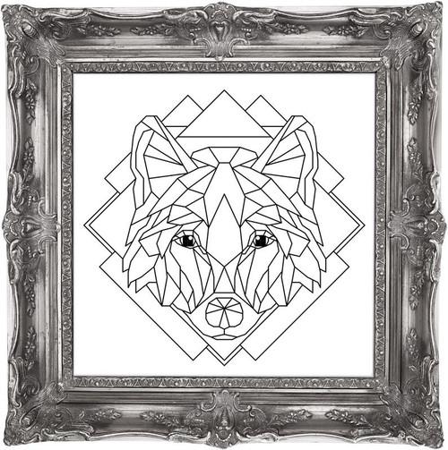 Crystal Wolf / Chelsea Buns Cross Stitch