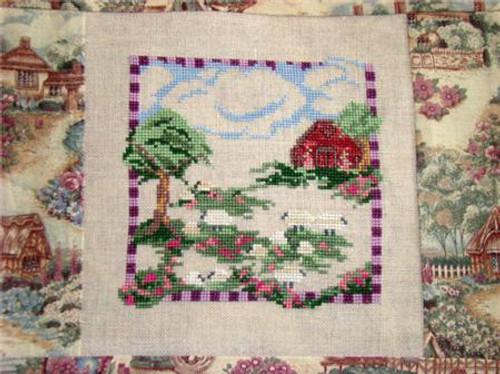 Baa Baa White Sheep / Country Garden Stitchery