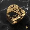 Gold USMC USN Corpsman Ring