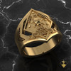 1st Recon Marines Yellow Gold Ring