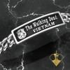 The USMC Walking Dead Vietnam Sterling Silver Bracelet