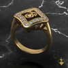 "Woman Marines EGA Ring surrounded by Diamonds available is Sterling, 10k, 14k and 18k Gold ""Made by Marines for Marines""  100% Satisfaction Guaranteed"