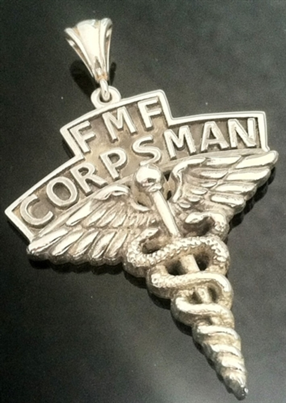 USMC FMF Coprsman Pendant