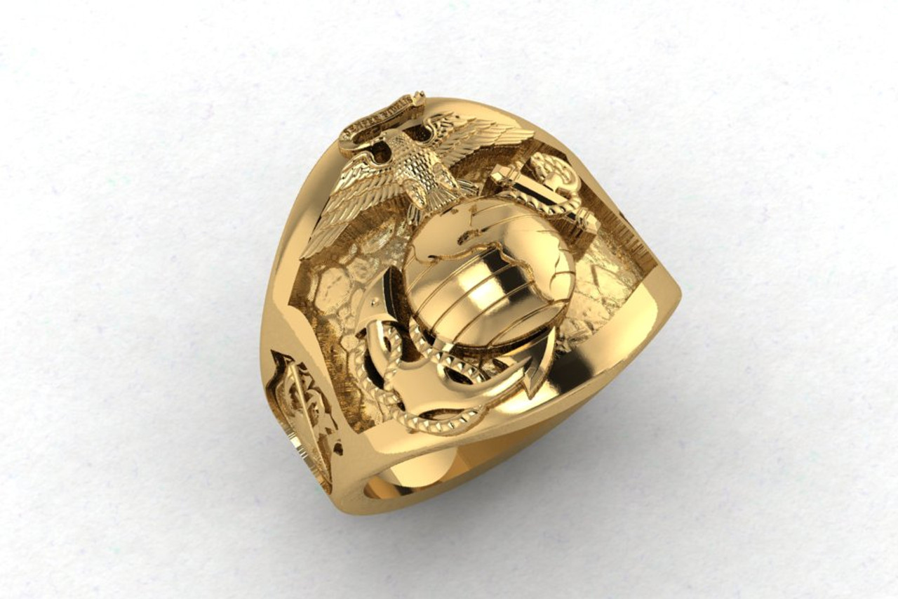 THE WALKING DEAD 10K GOLD RING