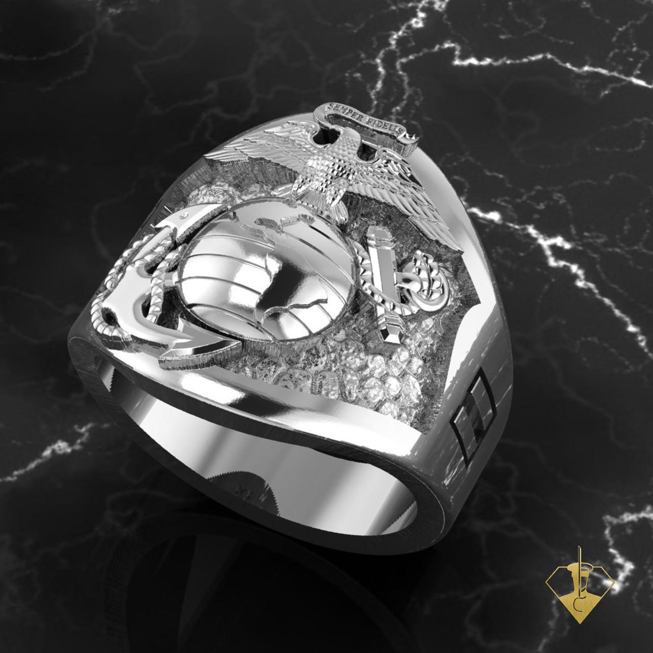 Custom Design Marine's Ring
