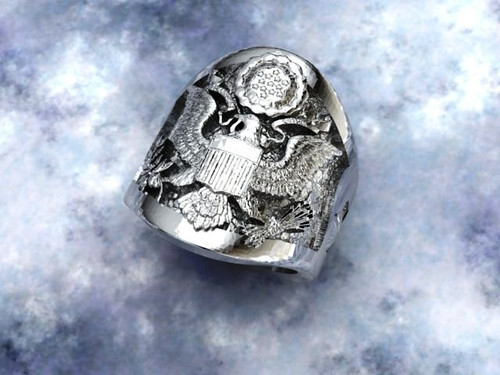 LT. Col Air Force Ring