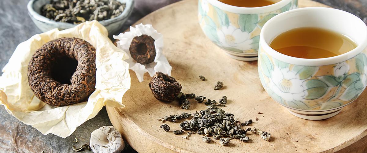 Fresh Loose Leaf Green Tea, Loose Leaf Black Tea, Loose Leaf