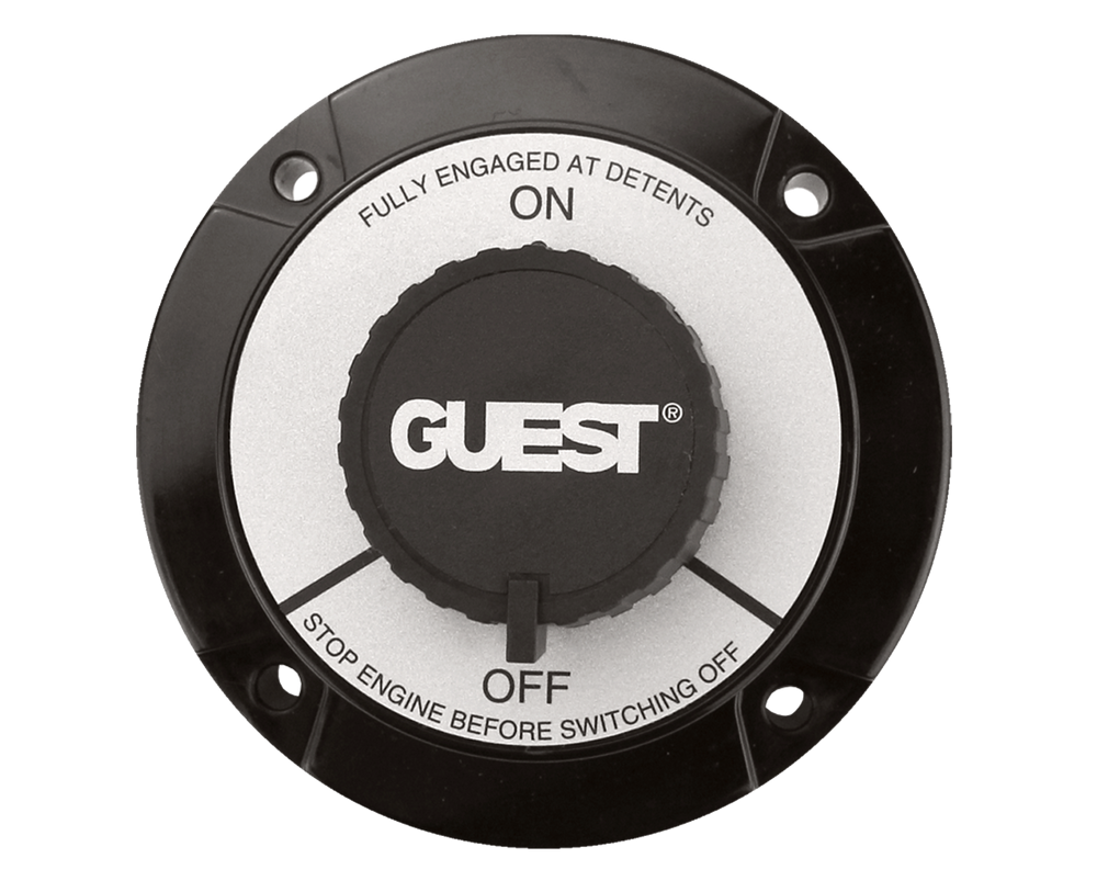 Guest Battery Switch, Universal Selector | Guest Battery Switch Wiring Diagram |  | Pacer Group