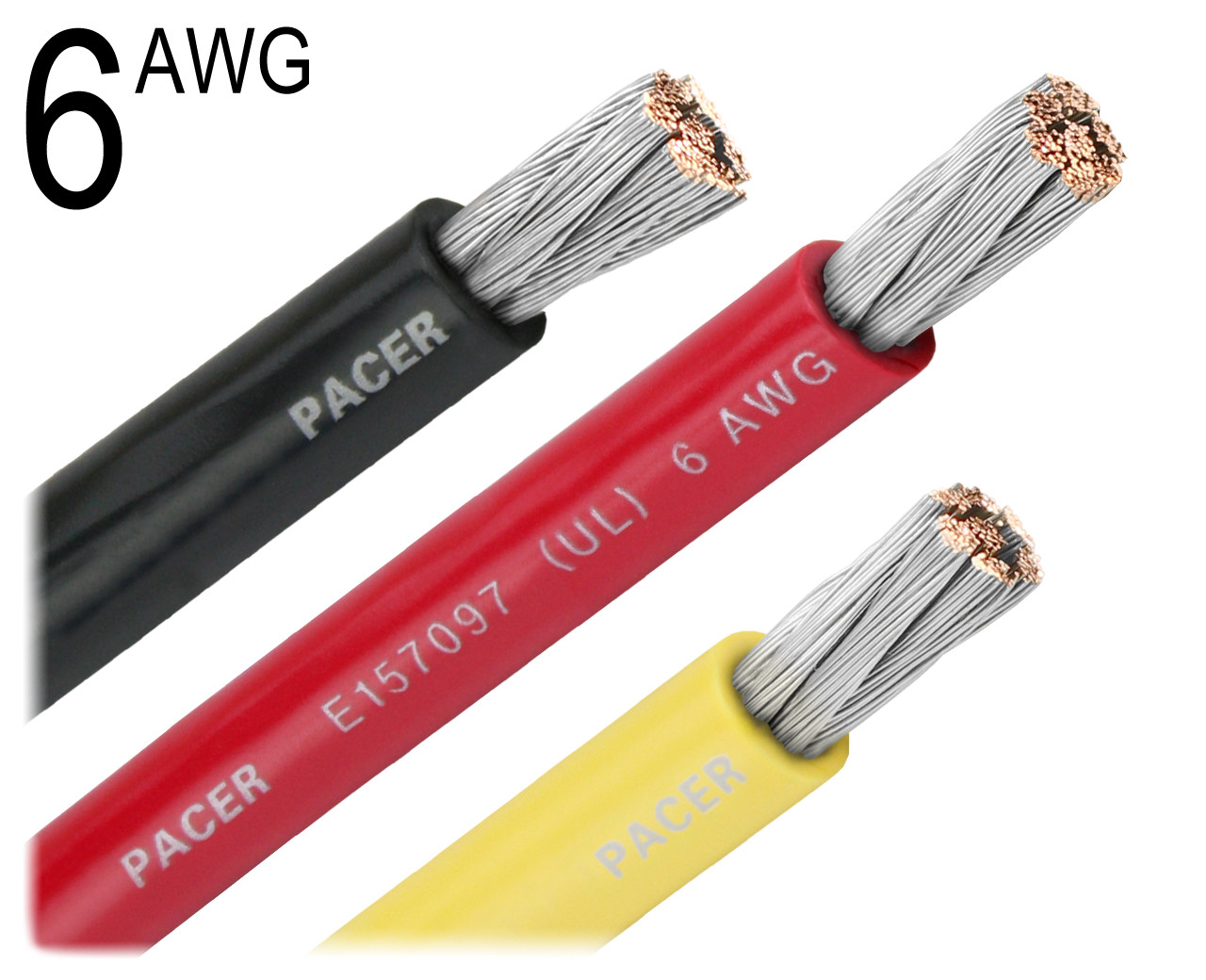 6 AWG GAUGE GREEN MARINE TINNED COPPER BATTERY CABLE BOAT WIRE BC-5W2 USA 30 FT