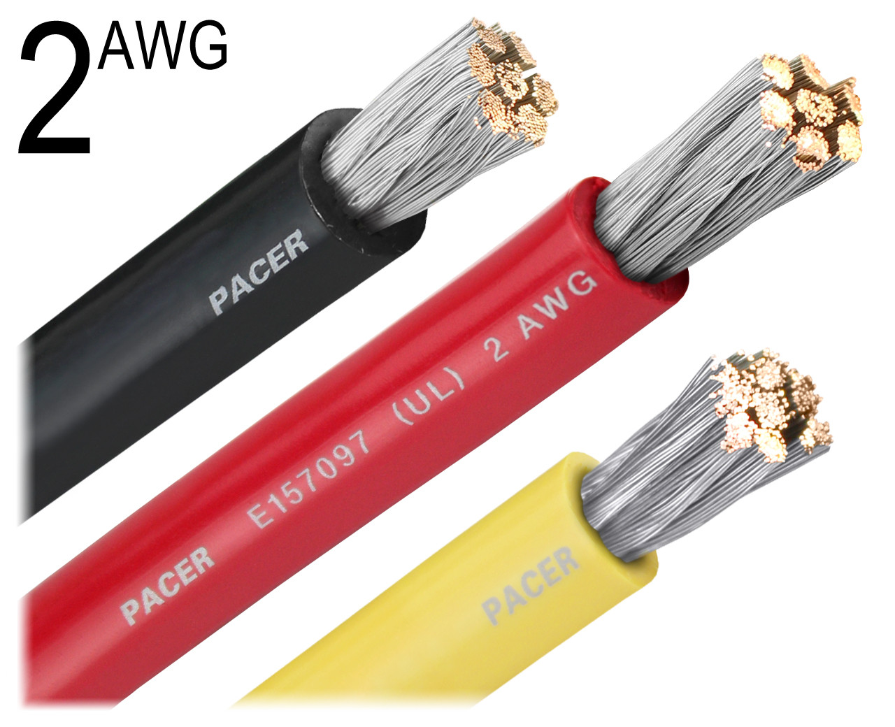 2 AWG Gauge Tinned Marine Battery Cable