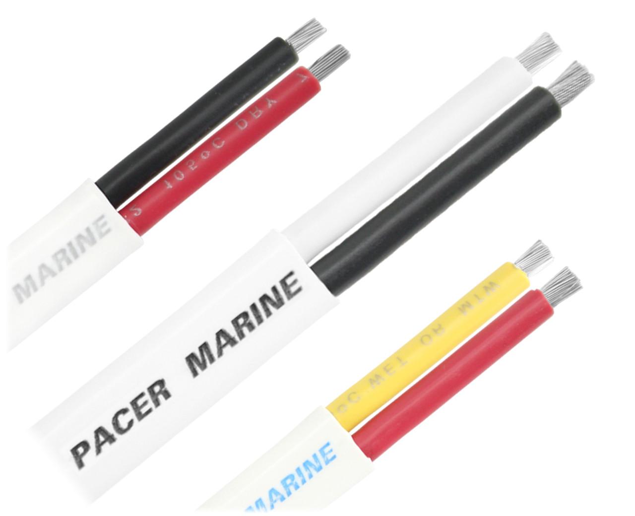 10 Gauge Tinned Marine Primary Wire 50 Foot Reel Black