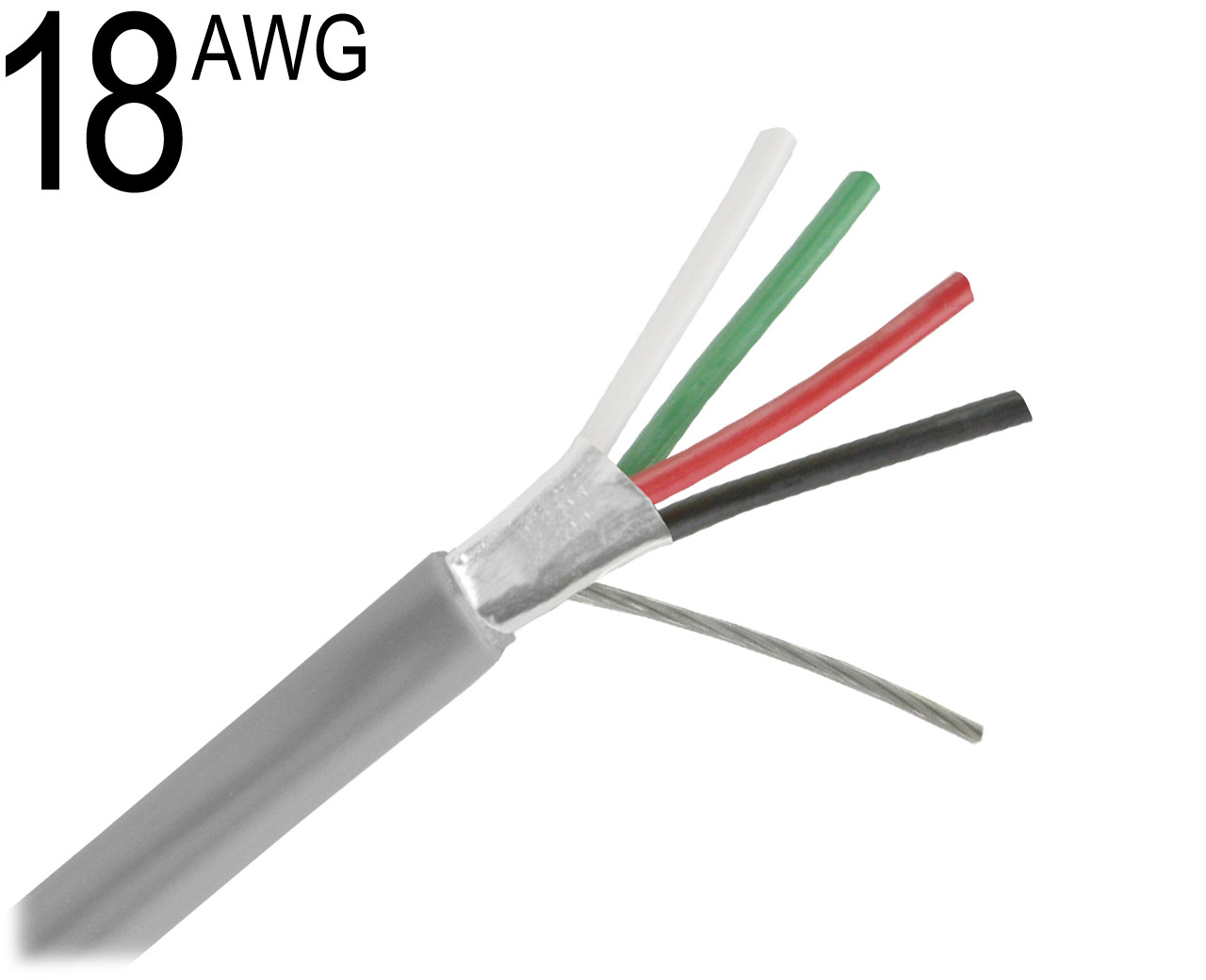 Shielded Multiconductor Cable 18 Awg