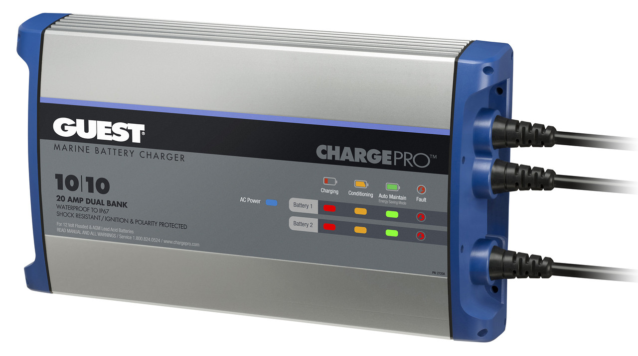 Battery Charger, 20 Amp, Guest Charge Pro | Guest Marine Battery Charger Wiring Diagram |  | Pacer Group