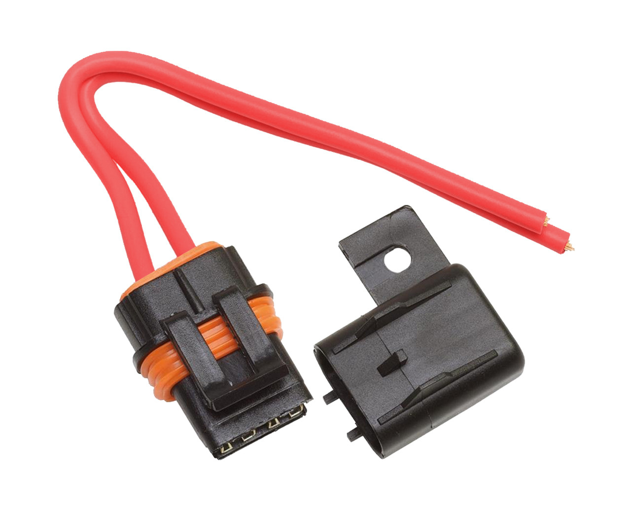atc ato fuse holder up to a 40 amp fuse, 10 awg lead automotive fuse block wiring waterproof maxi fuse block wiring #1