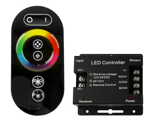 LED RGB Controller w/ Remote