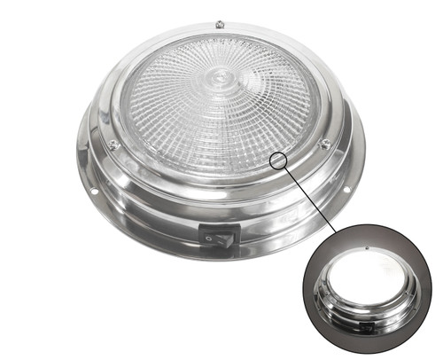 Dome Ledge with On/Off Toggle