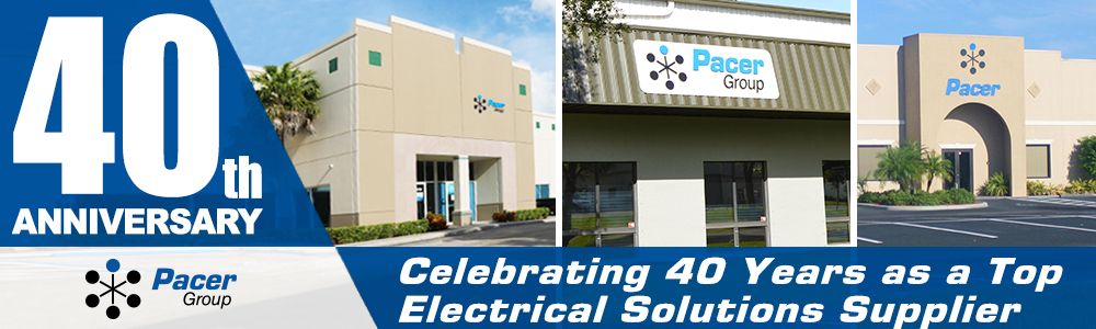 celebrating 40 years of providing electrical solutions.