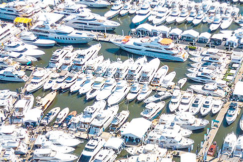 Boating sales have increased dramatically