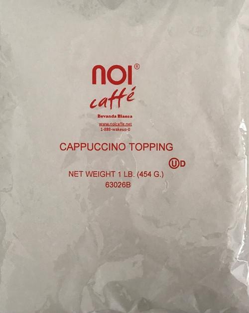 Noi Cappuccino Topping CASE (12 bags x 1lb)
