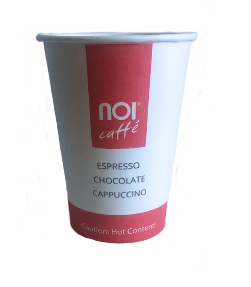 Noi Caffe 8oz Cup Case -2000 units