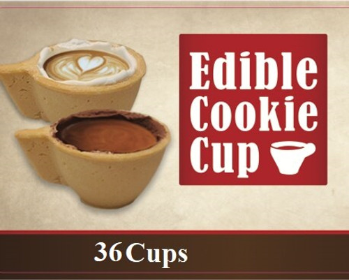 Edible Cookie Cups - 36 units