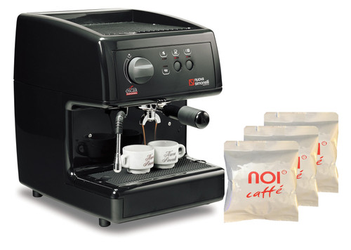 Oscar I Espresso Machine Bundle: includes 2 cases of Double Shot Espresso Pods