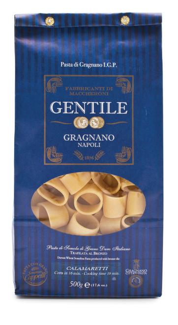 Pasta Calamaretti, Gentile, Gragnano-Napoli, 1.1 lb (500 g)
