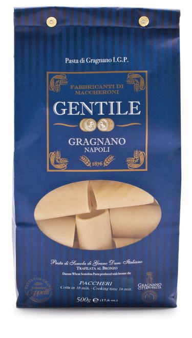 Pasta Paccheri, Gentile, Gragnano-Napoli, 6.6 lb (3 kg)