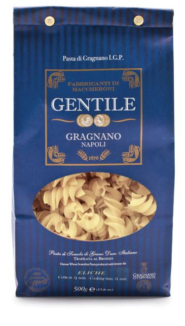 Pasta Eliche,  Gentile, Gragnano-Napoli, 1.1 lb (500 g)
