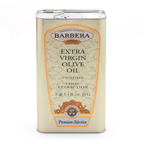 Extra Virgin Olive Oil, Olio Extravergine Di Oliva, Barbera, Sicily, 33.8 oz (1l)